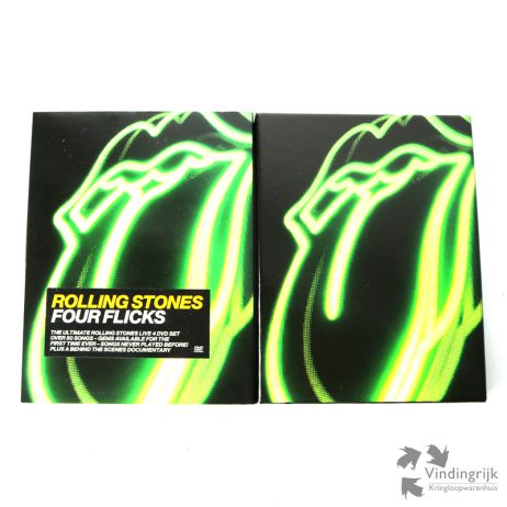 Four Flicks - The Rolling Stones 4 DVD-Box