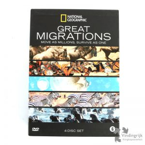 Great Migrations - 4 Dvd Box National Geographic documentaire natuurfilm
