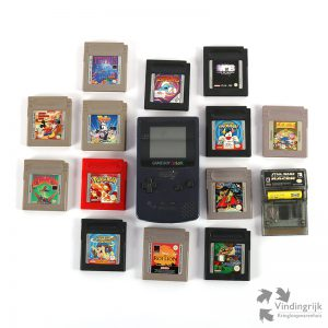 Nintendo GameBoy Color spellen games spelcomputer cartridges Game Boy
